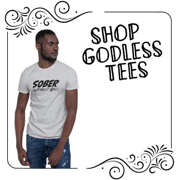 Secular Sobriety T-shirt