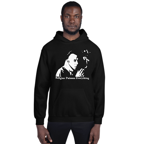Hitchens Religion Poisons Everything Unisex Hoodie
