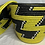 Thumbnail: Yellow, Black, and White Handwoven Basket From Uganda