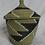 Thumbnail: Black & White Handwoven Basket From Uganda