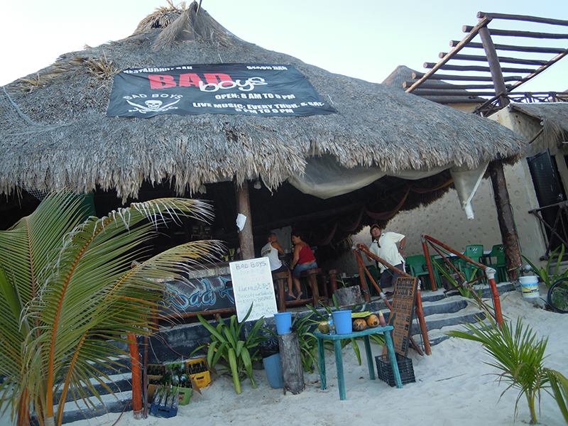 Bad Boys Beach bar