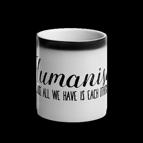Humanism Glossy Magic Mug