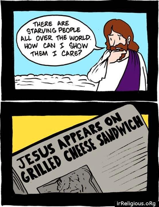 Jesus Didn't Start A Food Bank