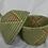 Thumbnail: Pink & Green Handwoven Basket From Uganda