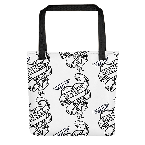 Godless Mom Tote bag