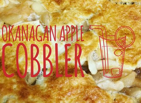 Giveaway and Video Recipe: Local Okanagan Apple Cobbler