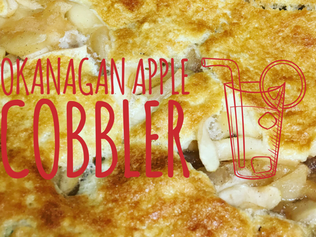 Giveaway and Video Recipe: Local Okanagan Apple Cobbler