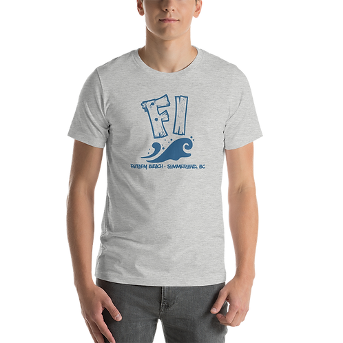 FI Rotary Beach Summerland Short-Sleeve Unisex T-Shirt