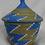 Thumbnail: Blue & White Handwoven Basket From Uganda
