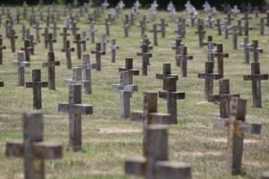 Prison graveyard