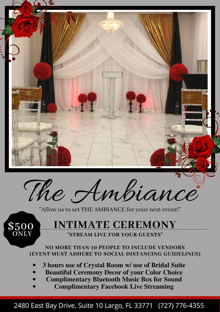 Intimate Ceremony Package