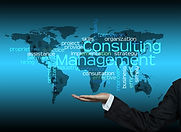 Consulting Management concept - hand hol