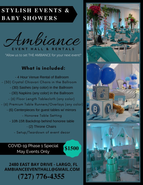Stylish Event Package