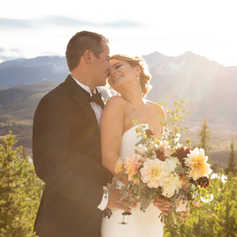 sapphire point summit county elopement