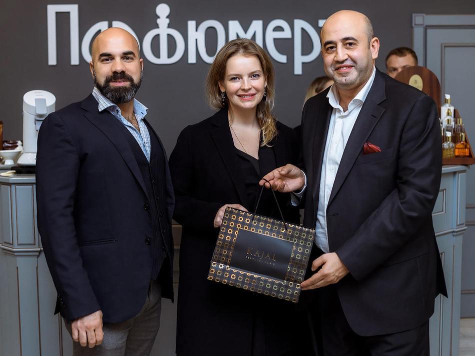 Владельцы и основатели парфюмерного дома KAJAL