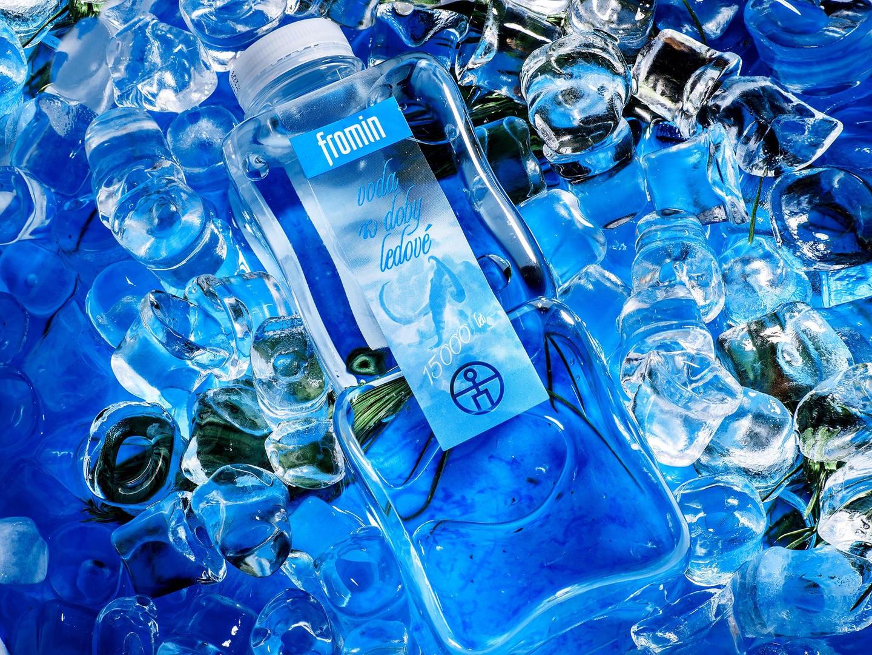 Предметная фотосъемка. Питьевая вода FROMIN