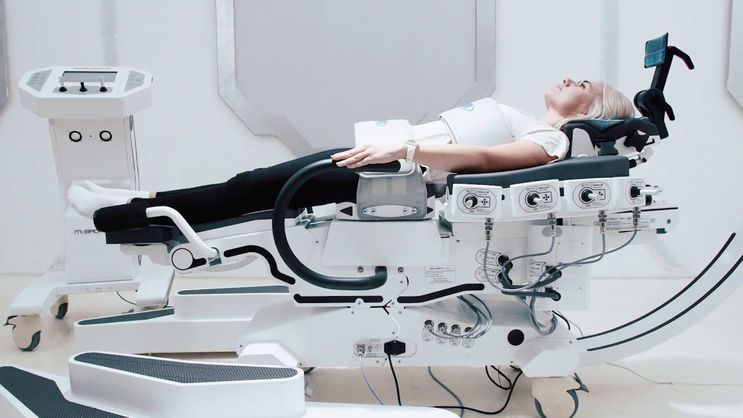 ROBOSPINE. LIFE WITHOUT PAIN IN SPINE