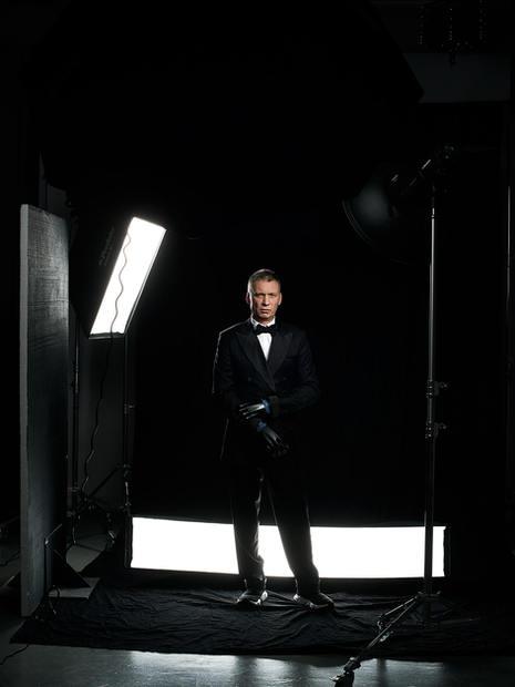 Строгий мужской бизнес портрет