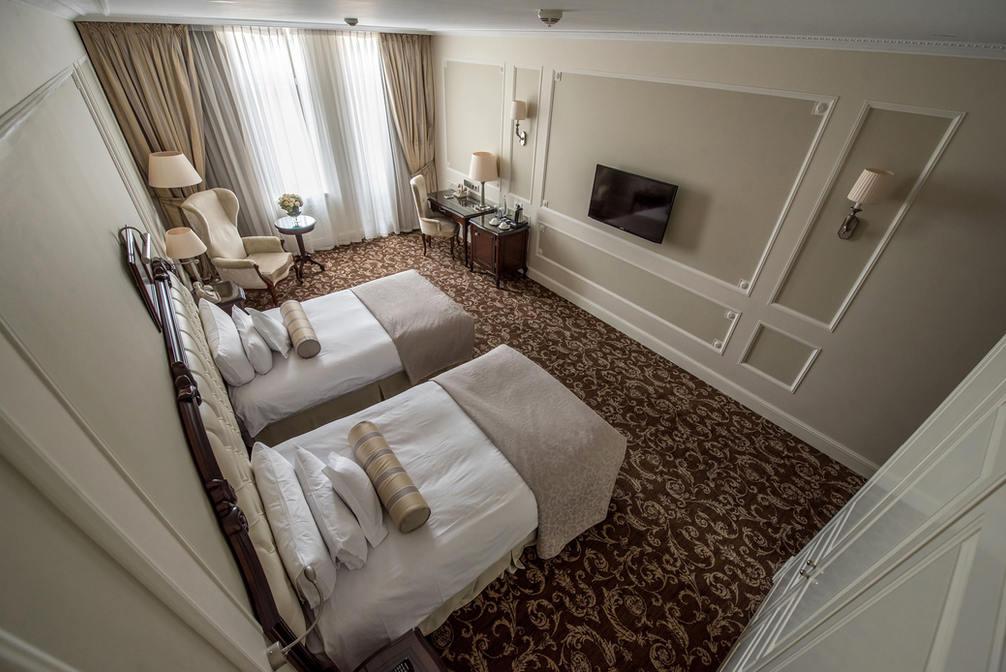 Гостиница Эрмитаж. Двухместный номер