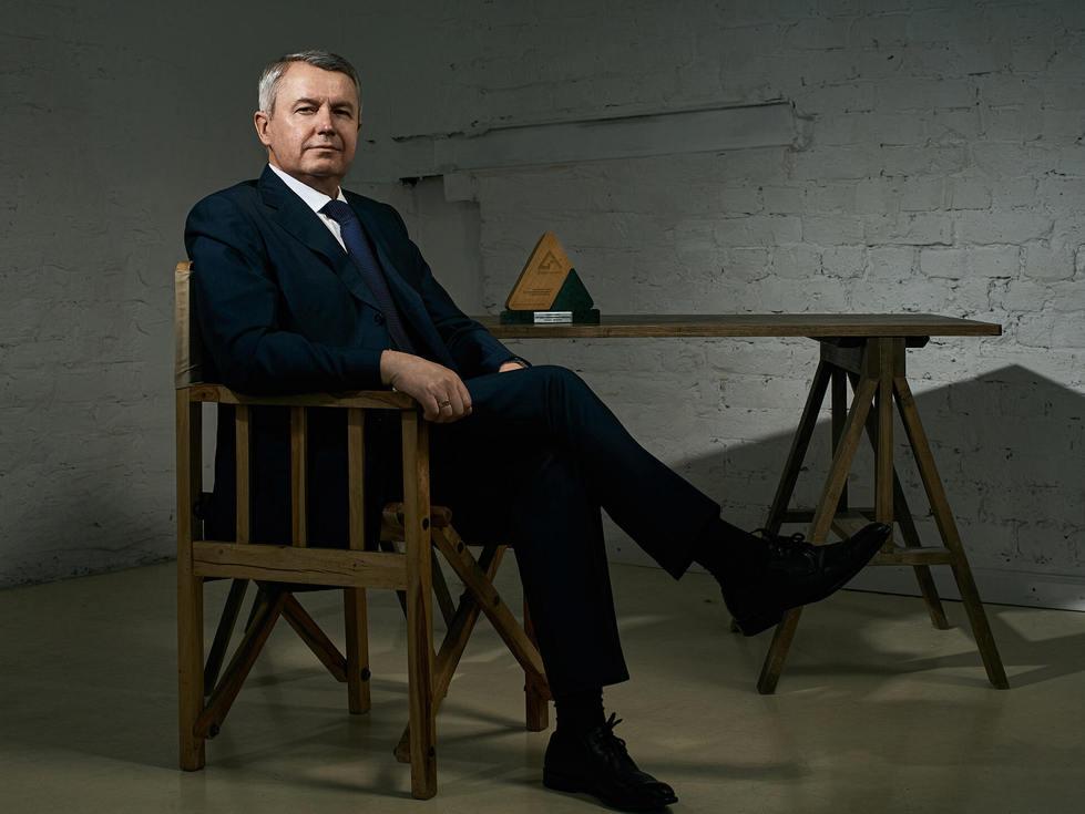 Бизнес портрет презедента компании