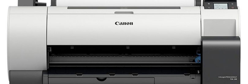 "Canon Plotter TA-20, 24""Color"