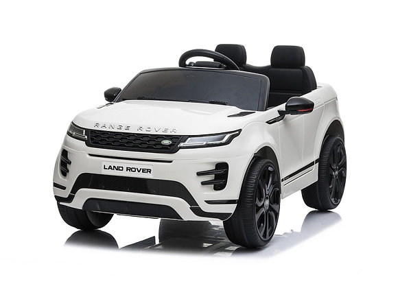 PRE ORDER White Range Rover Evoque Electric Ride On Car For Kids