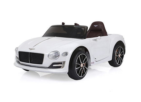 Licensed White Bentley EXP12 Kids Ride On Car