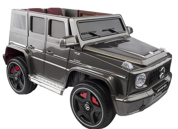 12V Grey Mercedes G65 G Wagon Electric Ride On Car For Kids