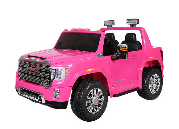 PRE ORDER Licensed Pink GMC Denali Electric Ride On Car For Kids