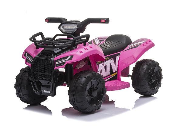 PRE ORDER - Pink ATV 6V Electric Ride On Car For Kids