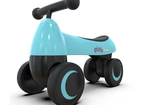 Blue Baby Balance Bike For Kids 1-2 Years Old