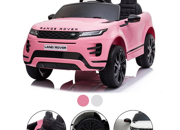 Pink Range Rover Evoque Electric Ride On Car For Kids