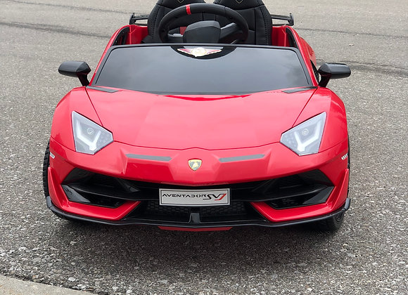 Licensed Red Lamborghini Kids Ride On Car
