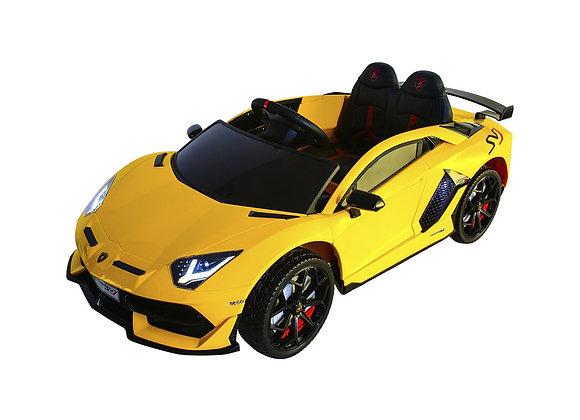 Licensed Yellow Lamborghini Kids Ride On Car