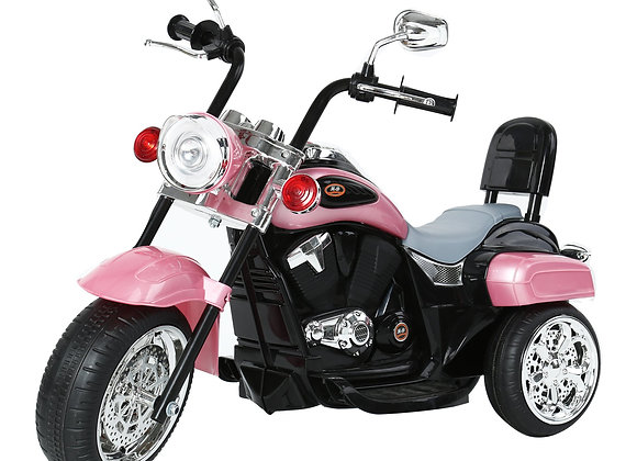 Pink Chopper Style Electric Ride On Bike