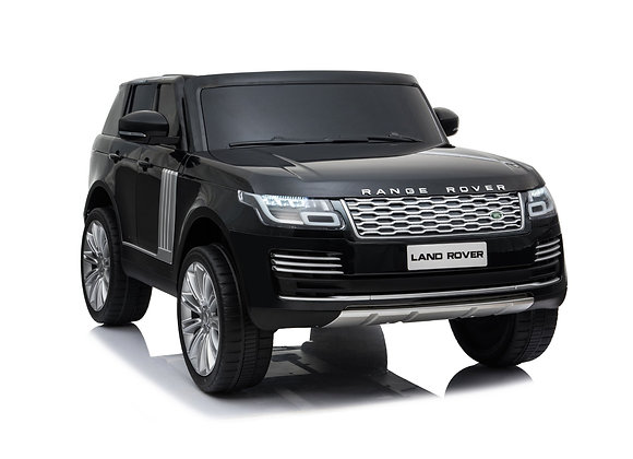 PRE ORDER - Black 2 Seater Land Rover HSE Electric Ride On Car For Kids