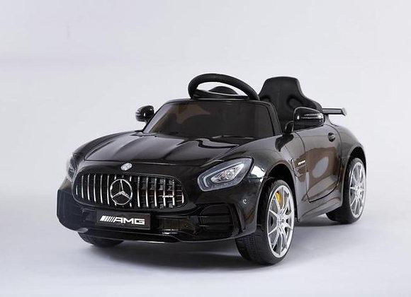 Licensed Black Mercedes AMG GTR Kids Ride On Car