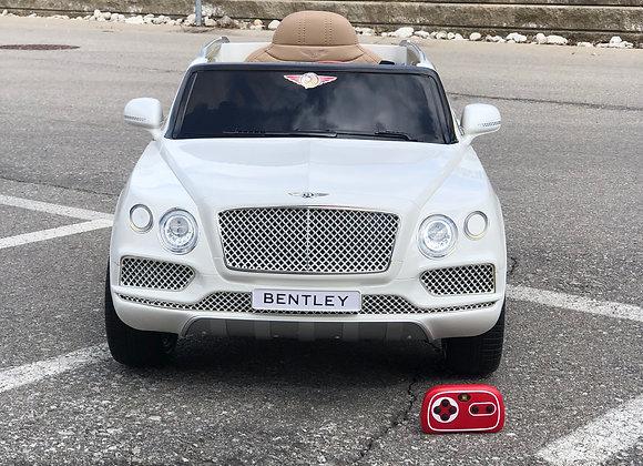 Licensed 12V White Bentley Bentayga Electric Kids Ride On Car