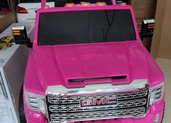 Licensed Pink GMC Denali Electric Ride On Car For Kids