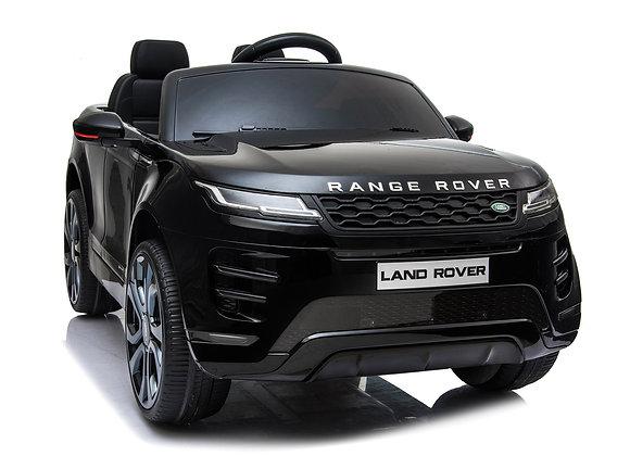 PRE ORDER Black Range Rover Evoque 12V Electric Ride On Car For Kids