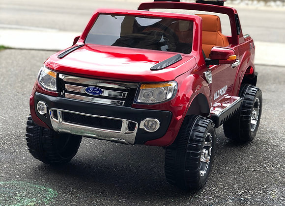 Red Ford Truck Electric Ride On For Kids