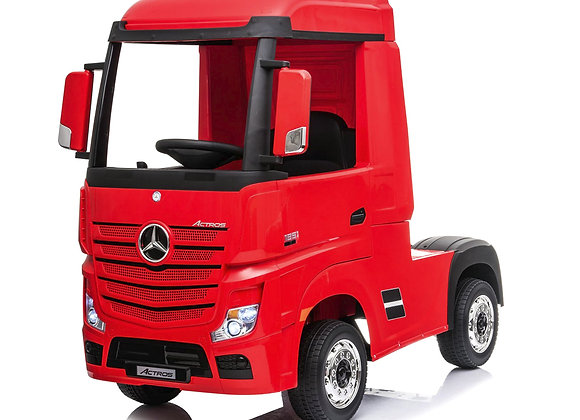 Licensed Red Mercedes Benz Actros Kids Ride On Car