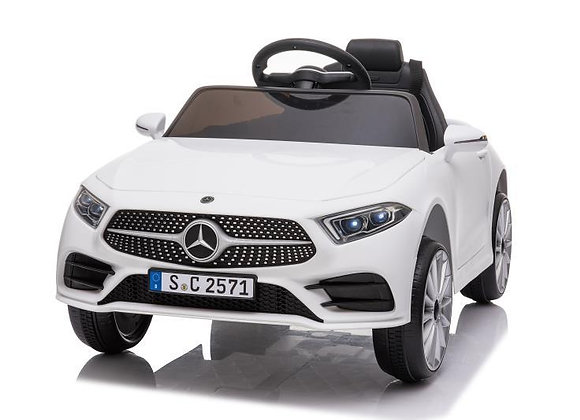 White Mercedes Benz GLA45 Electric Ride On For Kids