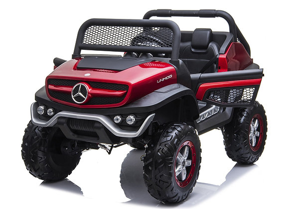 24V Red Mercedes Benz Unimog Electric Ride On For Kids