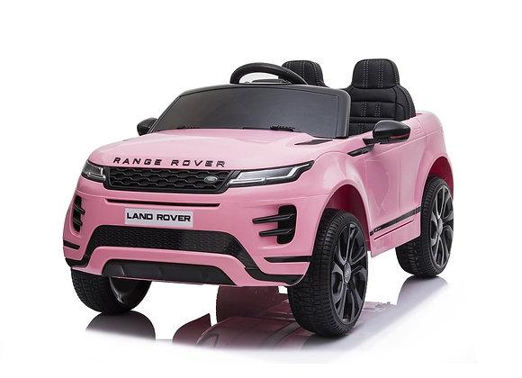 PRE ORDER - Pink Range Rover Evoque 12V Electric Ride On Car For Kids