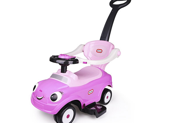 Pink Little Tikes 3 In 1 Push Car / Stroller Sliding Car For 1-3 Years Old