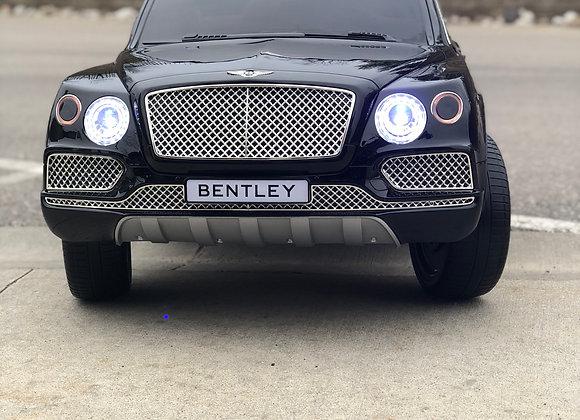 Licensed Black Bentley Bentayga Kids Ride On Car
