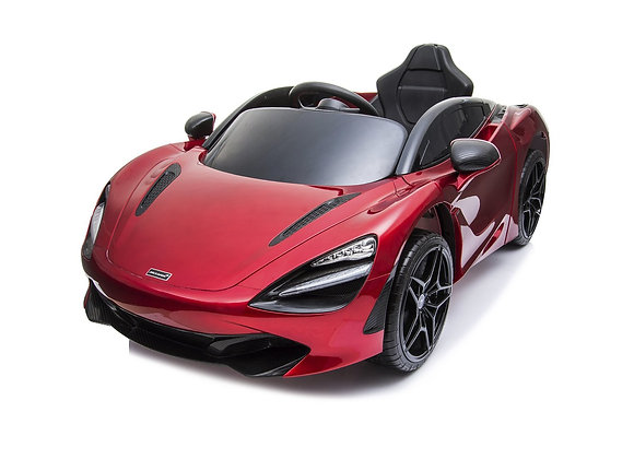 Licensed Red McLaren 720S Electric Ride On Car For Kids