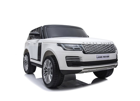 White 2 Seater Land Rover HSE Electric Ride On Car For Kids