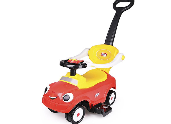 Red Little Tikes 3 In 1 Push Car / Stroller Sliding Car For 1-3 Years Old